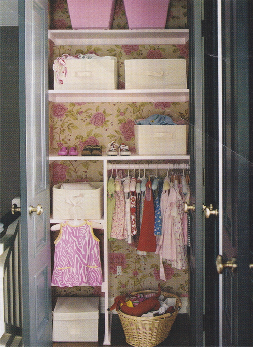 Closet pic from Project Nursery