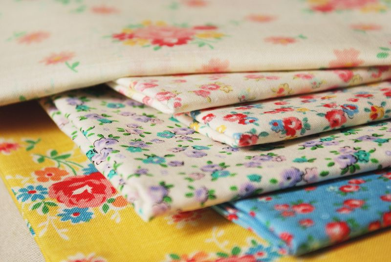 Old New 30's fabric by Lecien