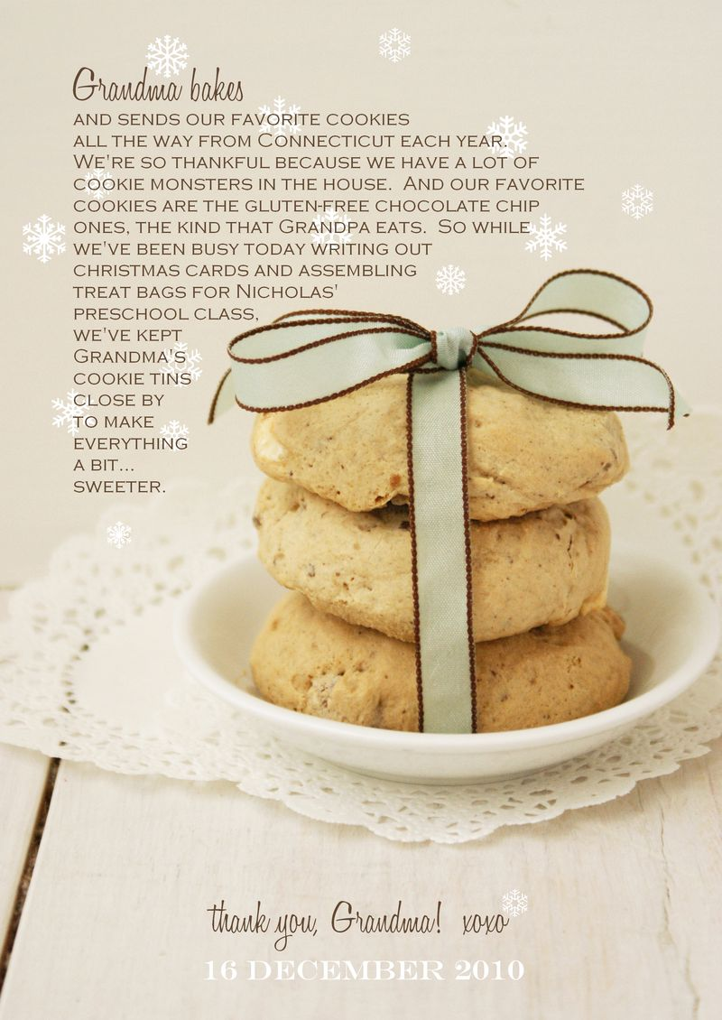 grandma's gluten free cookies