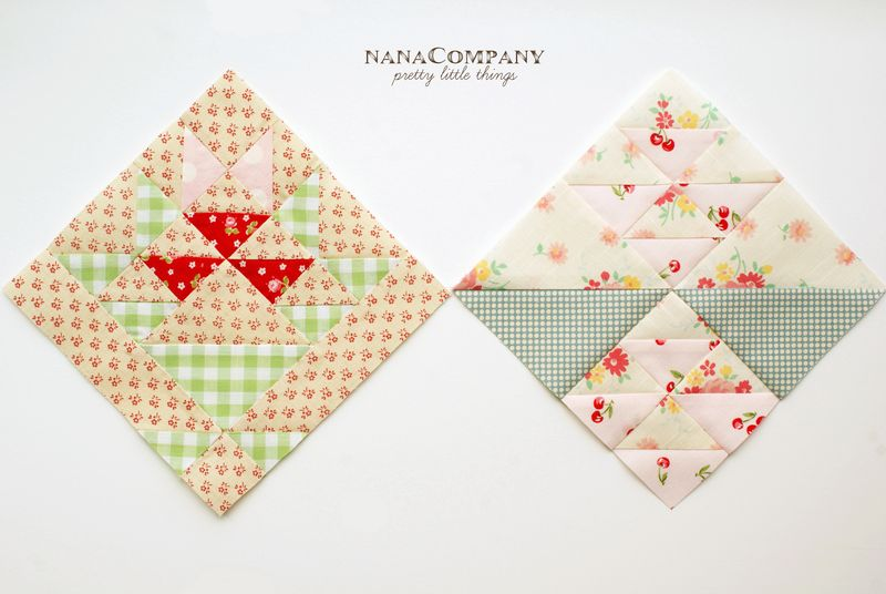 nanaCompany farmer's wife quilt blocks