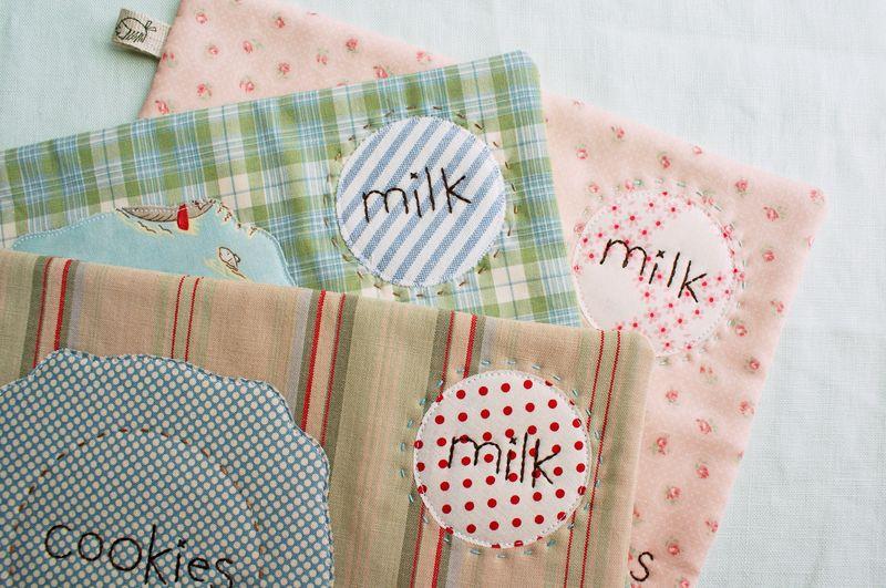 nanaCompany handmade milk and cookie snack mats,C1341