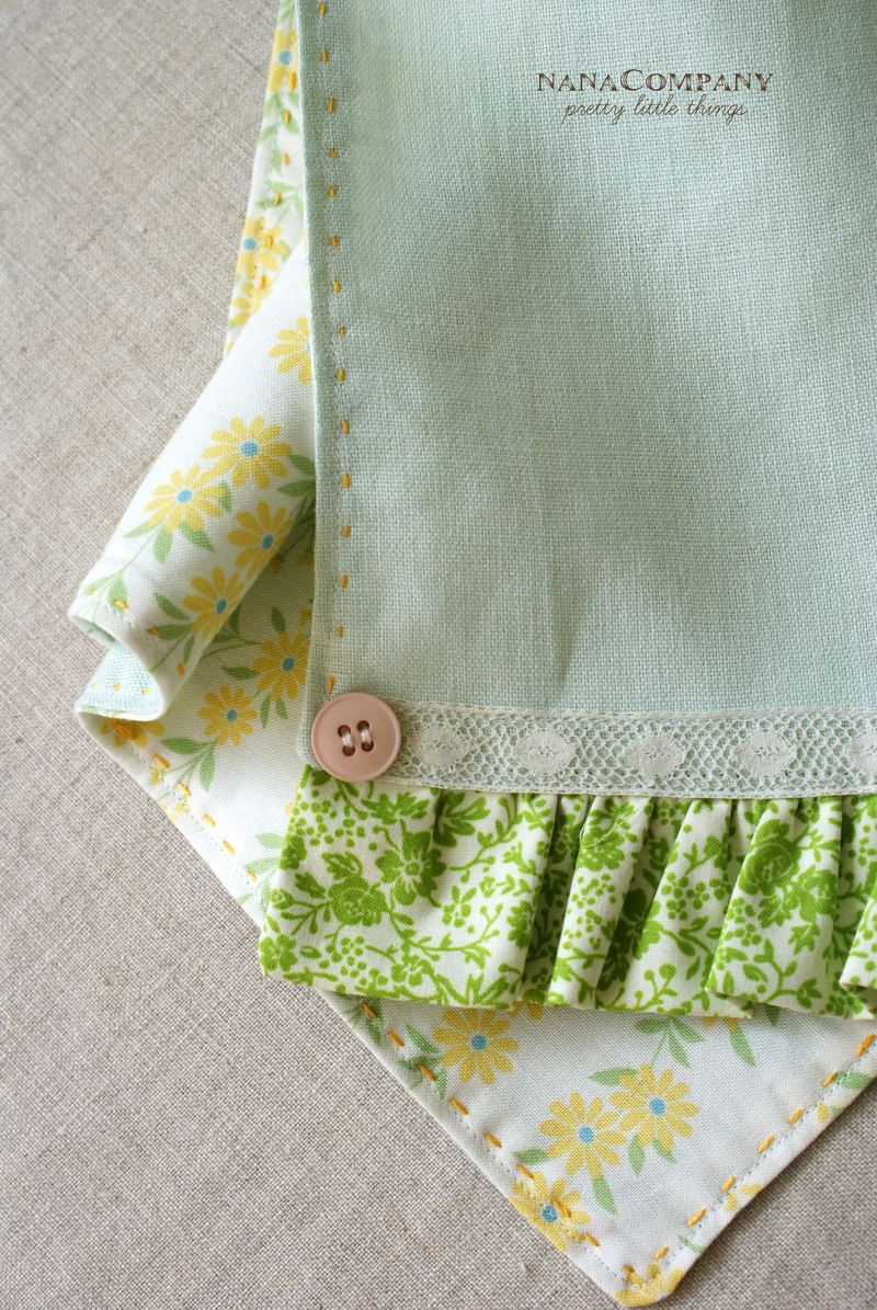 handmade linen tea towel by nanaCompany, T255pt1