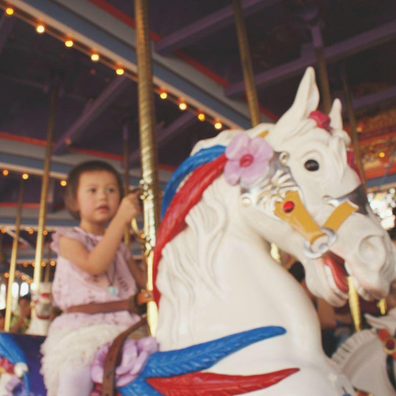 carousel at Disneyland