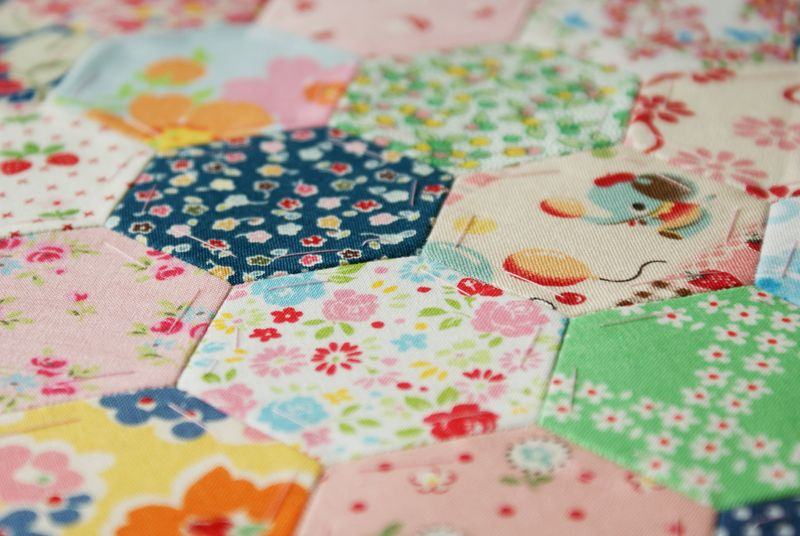 hexagon patchwork by nanaCompany
