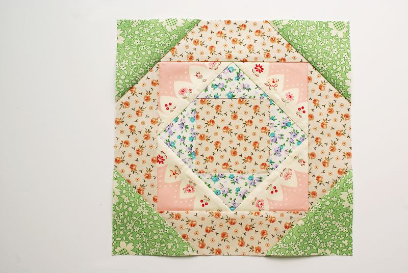 Farmer's Wife quilt block by nanaCompany