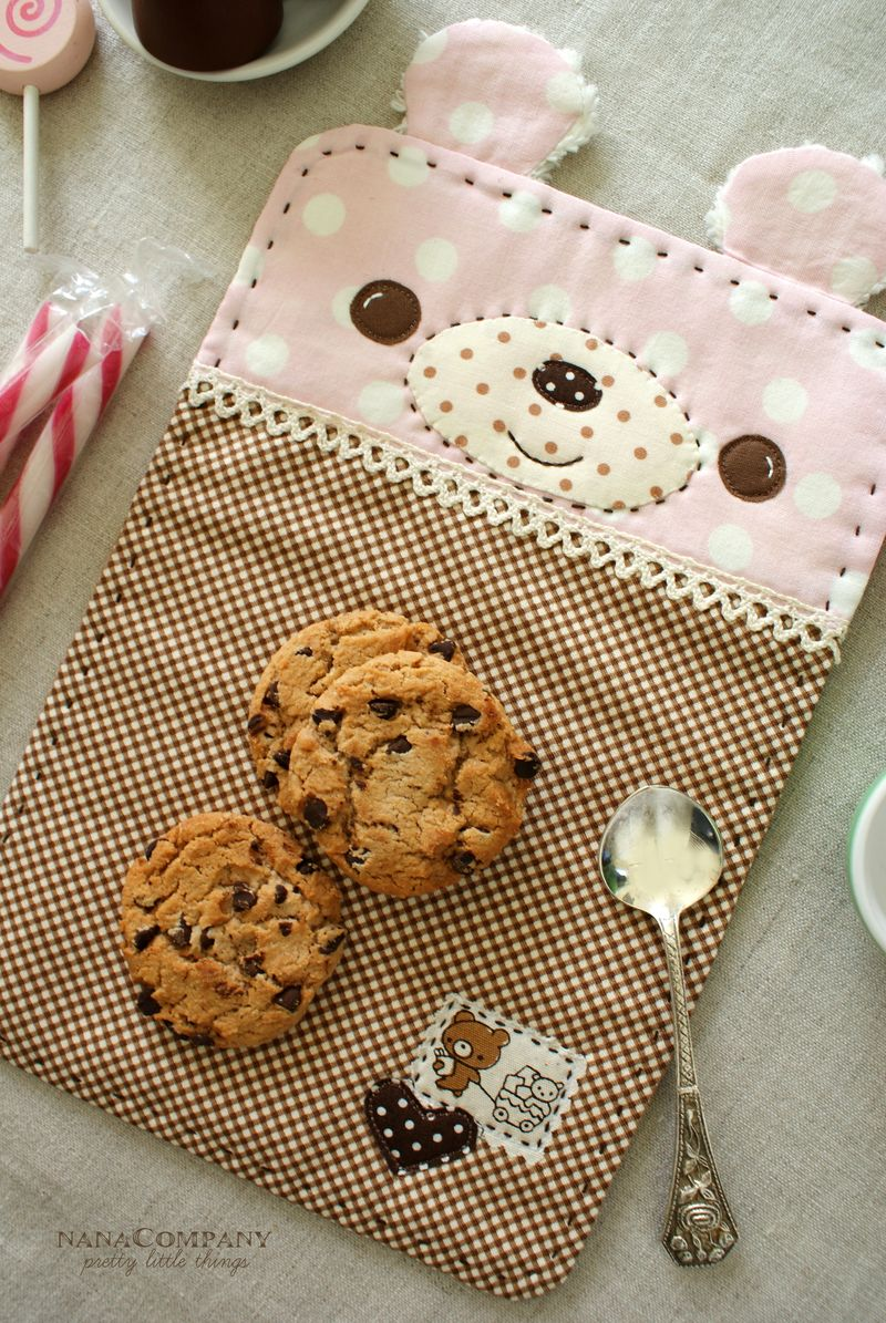 handmade bear snack mat by nanaCompany, B025t