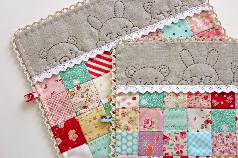 sleepy time doll quilts by nanaCompany, Q_0155