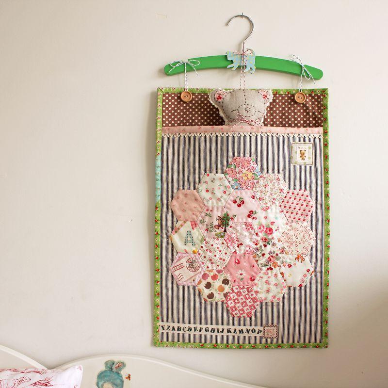 handmade bear in a bag by nanaCompany, B_2266p
