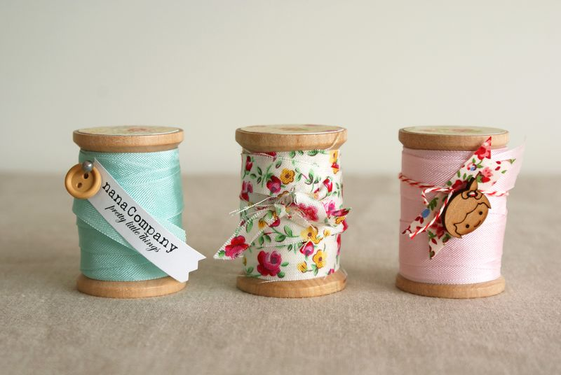 spools of pretty trim, nanaCompany, N032
