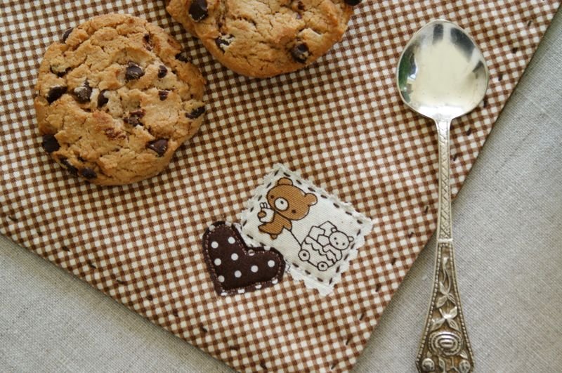 cookies on a snack mat by nanaCompany, B047