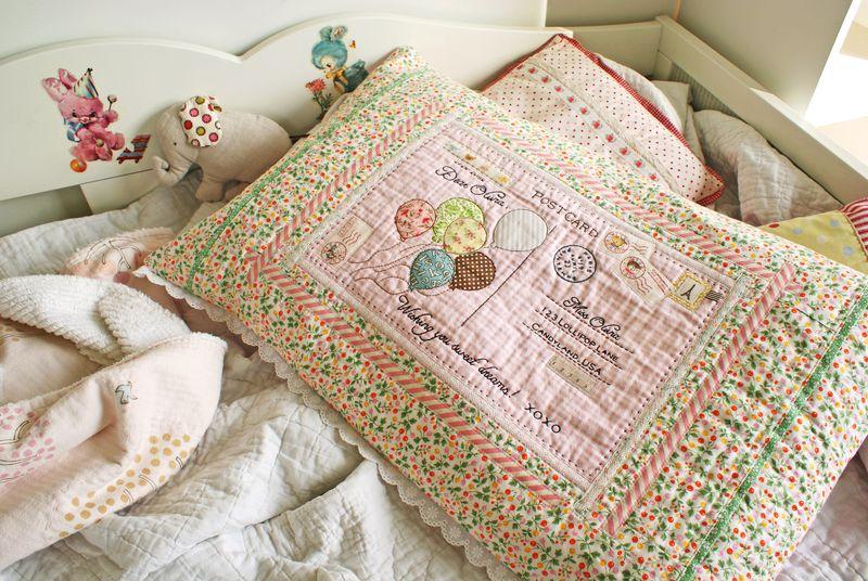 postcard pillow by nanaCompany, P266p