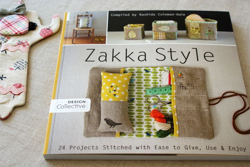 Zakka style book and elephant bookmark, Z049