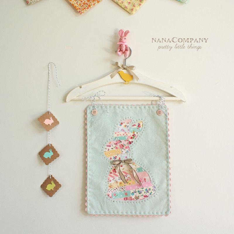 ticker tape bunny by nanaCompany