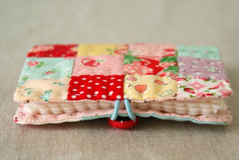 patchwork needlebook by nanaCompany, N154