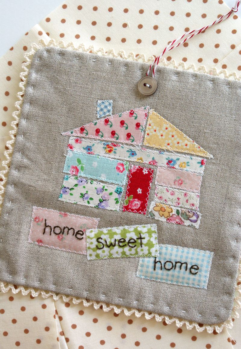 home sweet home ticker tape quilt, H162ppp