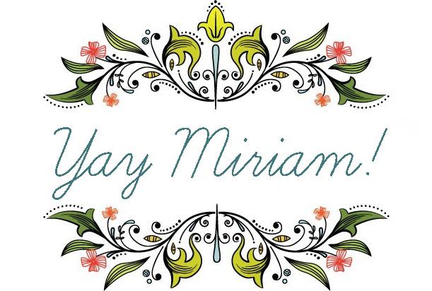 Yay Miriam