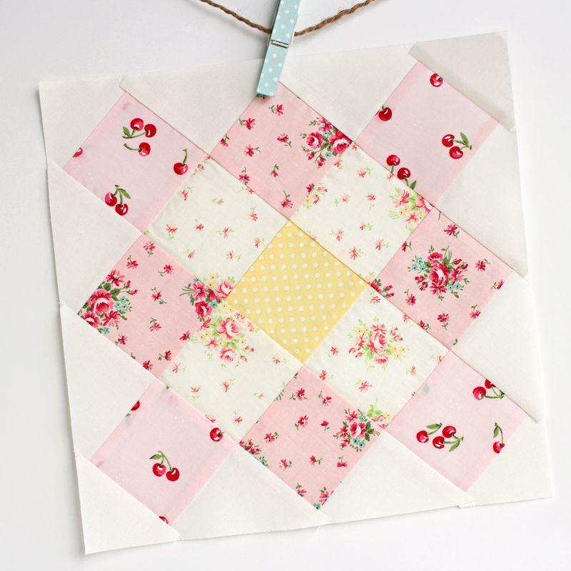 granny square quilt block, G_0456p