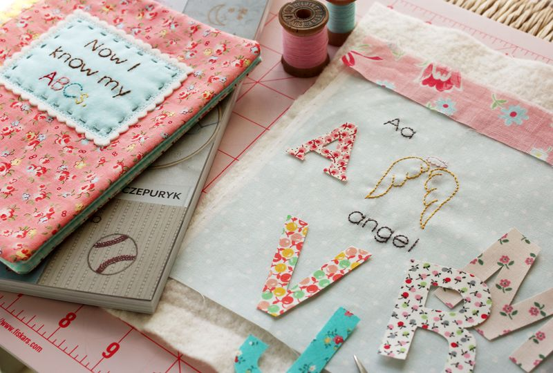 the beginnings of an ABC soft book, by nanaCompany