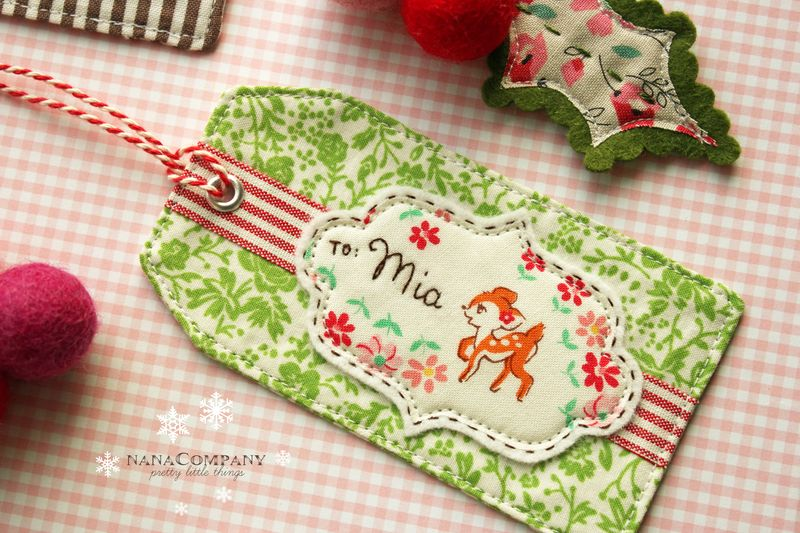 to: Mia, 2012 Holiday Tag-a-Long by nanaCompany