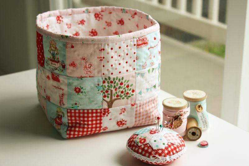 handmade by nanaCompany, using The Simple Life fabric by Tasha Horsley