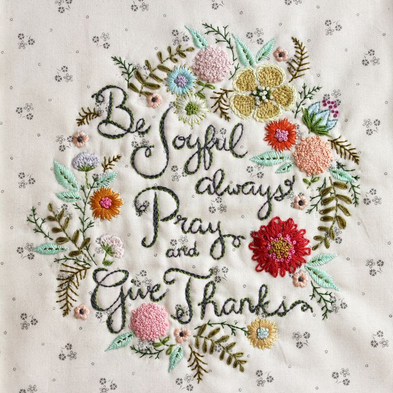 hand embroidery fonts