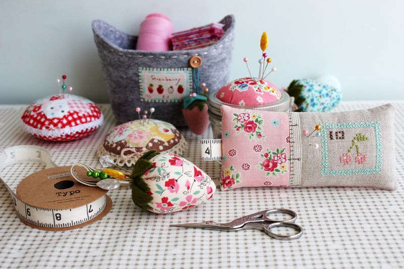 one can never have too many pretty pin cushions, nanaCompany