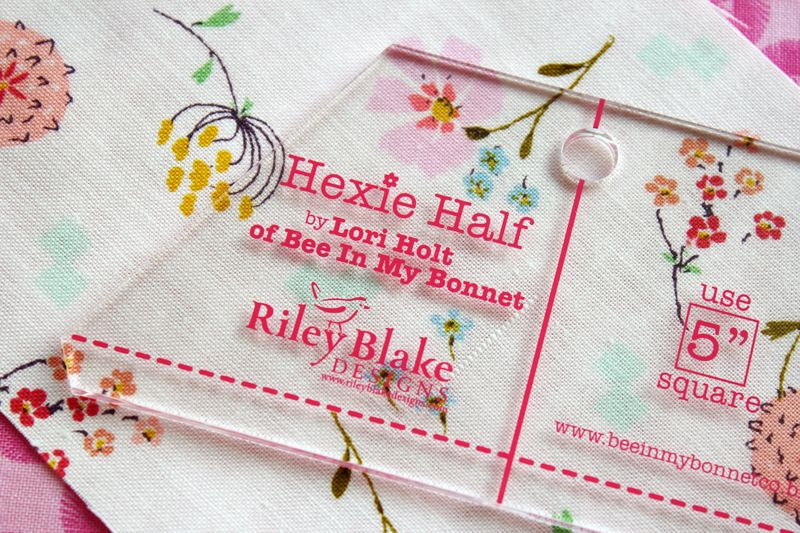 Hexie Half ruler by Lori Holt