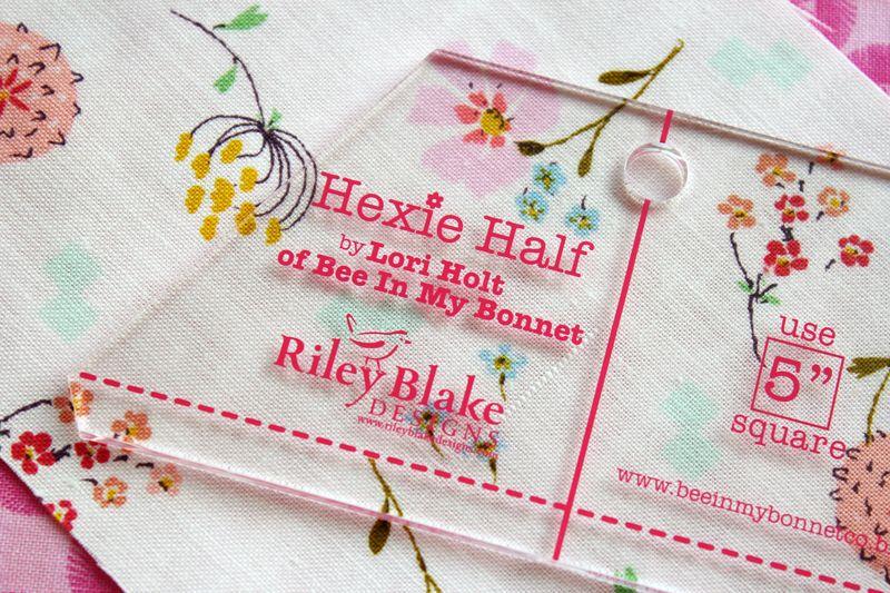 Hexie Half ruler by Lori Holt