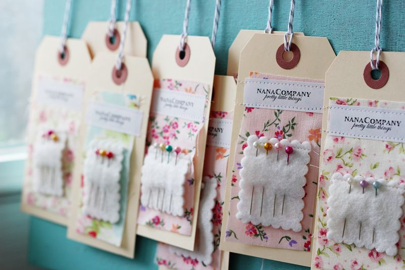 DIY needlekeep hangtags by nanaCompany