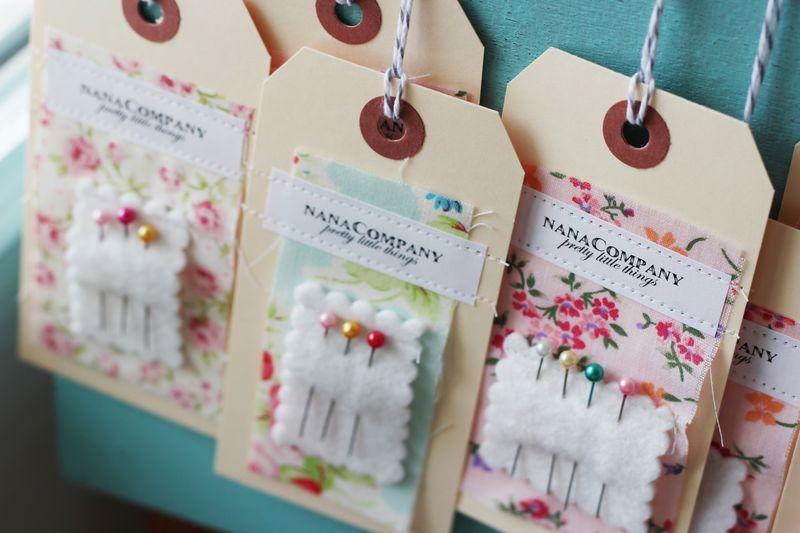 nanaCompany DIY handmade tags