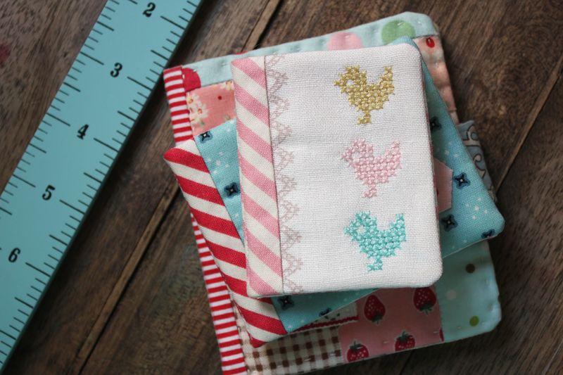 three little needlebooks by nanaCompany