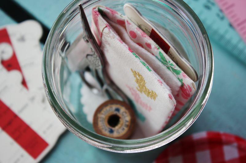 my Bonne Maman sewing jar... by nanaCompany