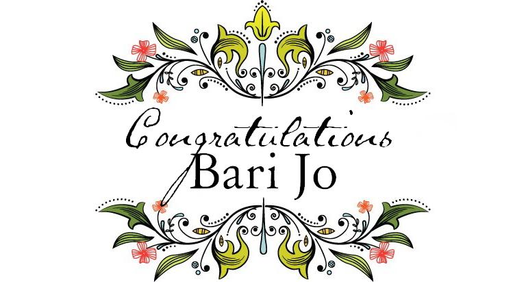 Congratulations bari jo