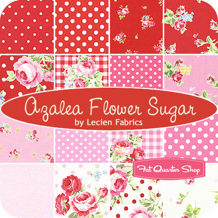 AzaleaFlowerSugarLecien-Fat Quarter Shop
