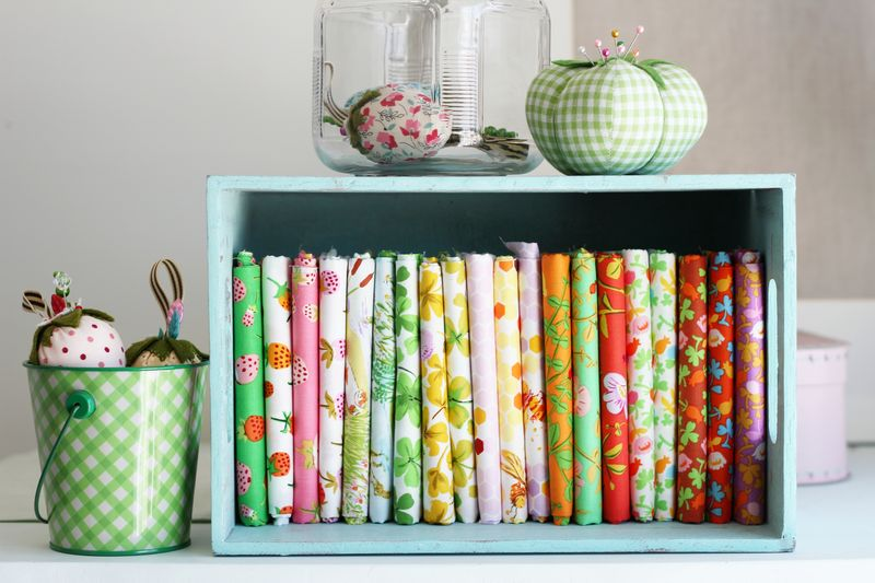 Briar Rose by Heather Ross, fat quarter bundle