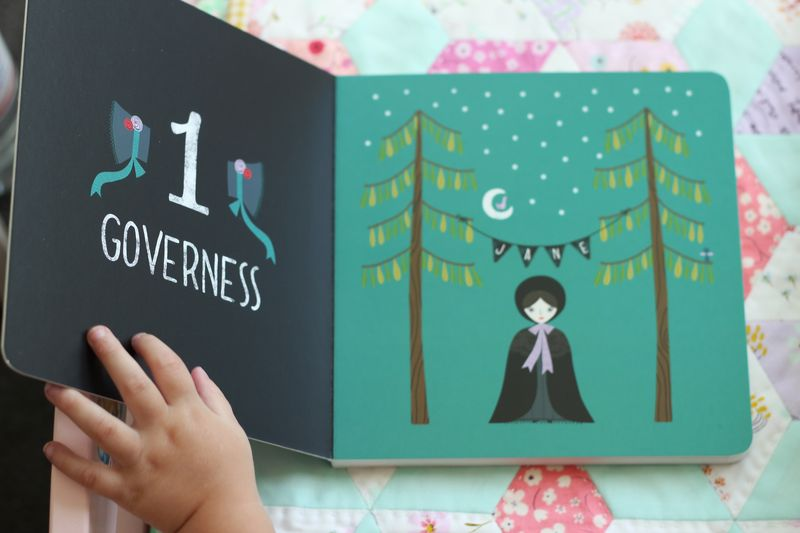 Jane Eyre, BabyLit board book... 1 Governess