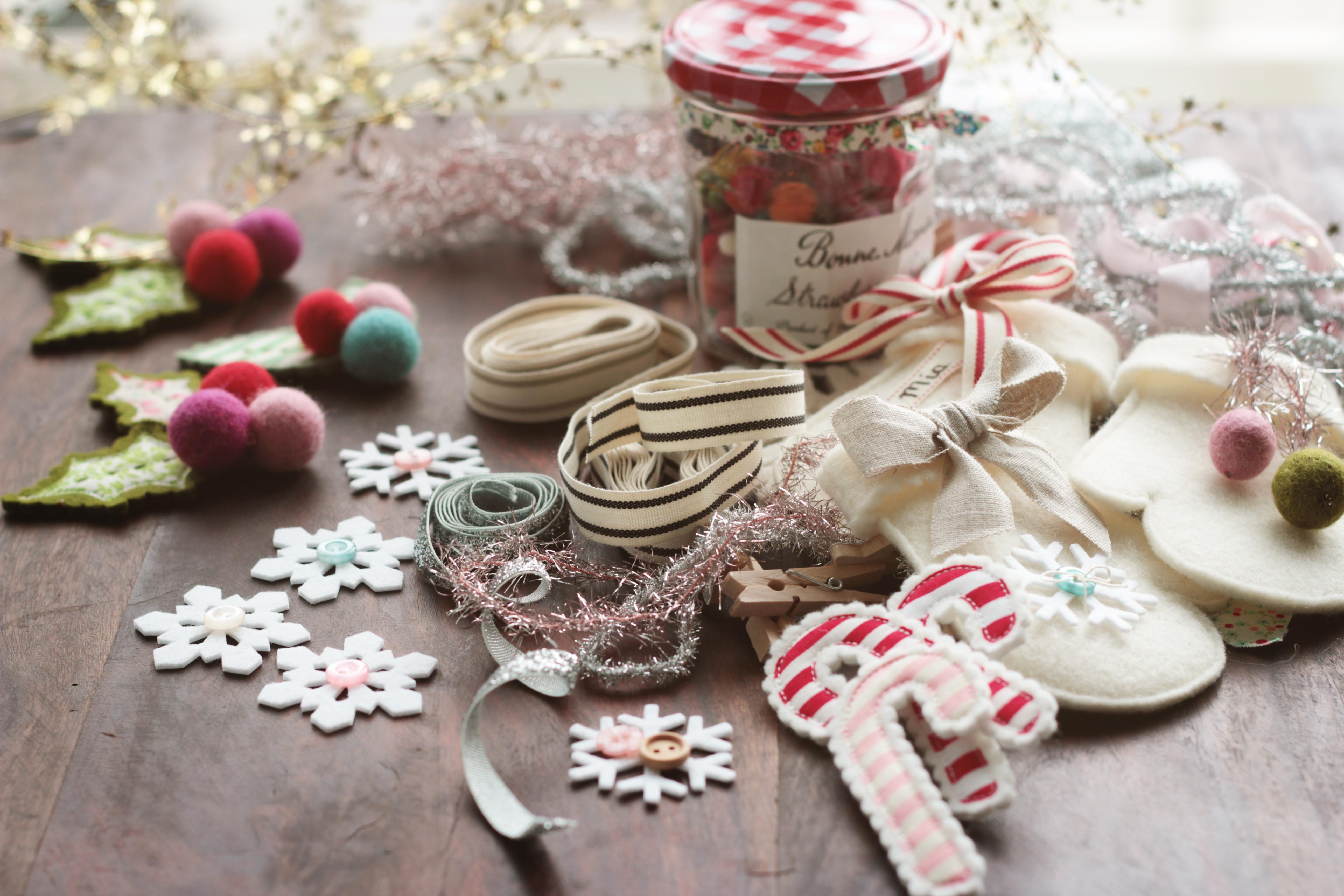 Mitten christmas decorations - X_2876