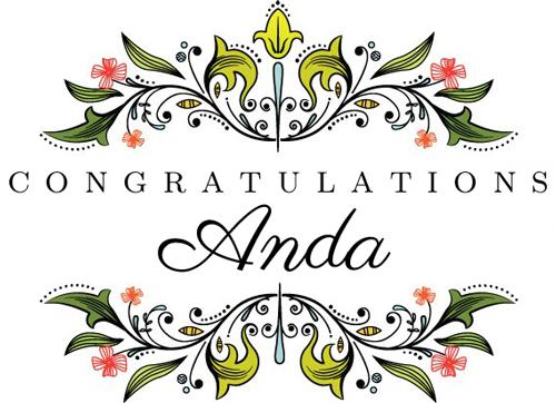 CongratulationsAnda