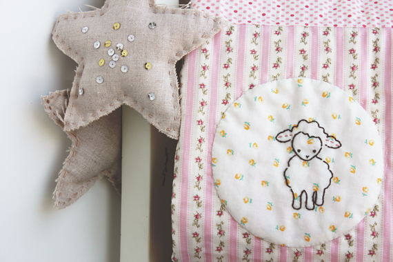 Baby-Quilt-embroidered-lamb