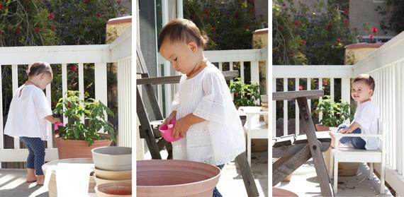 Mia-gardening-triptych