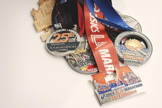 LAmarathon2014medal