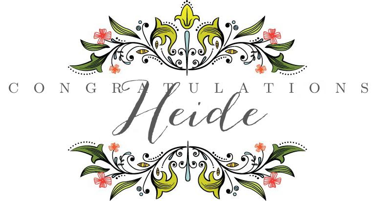 Congrats-Heide