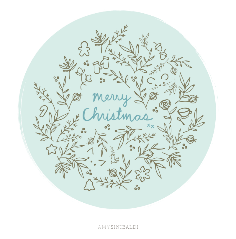 WinterSketch-MerryChristmas