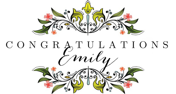 CongratsEmily
